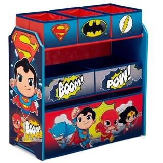DC Super Friends Multi-Bin Toy Organizer