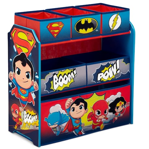 DC Super Friends Multi-Bin Toy Organizer