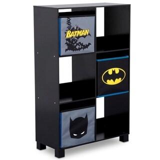 DC Comics Batman 6 Cubby Deluxe Storage Unit