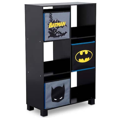DC Comics Batman 6 Cubby Deluxe Storage Unit