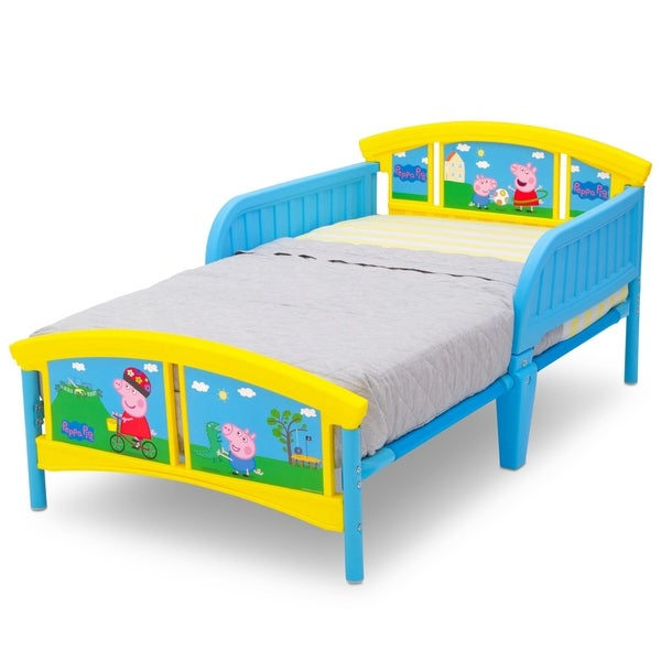 Peppa Pig Plastic Toddler Bed