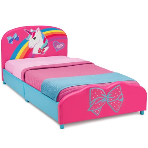 JoJo Siwa Upholstered Twin Bed