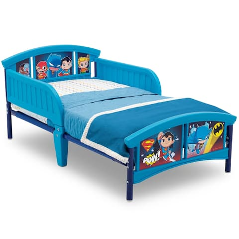 DC Super Friends Plastic Toddler Bed