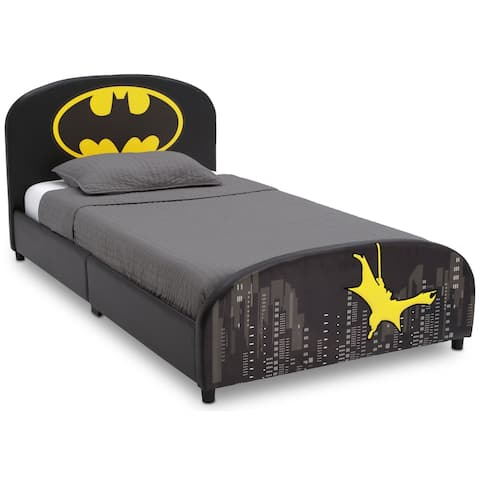 DC Comics Batman Upholstered Twin Bed