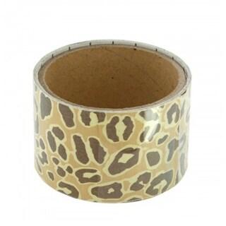 Bulk Buys Cheetah Pattern Mini Repositionable Wall Border - 24 Pack