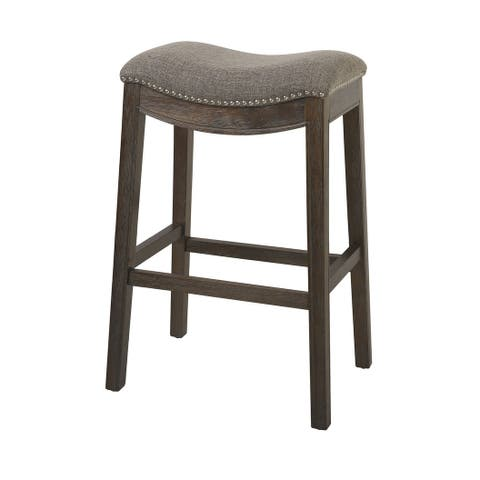 Copper Grove Bezons Saddle Seat 30-in. Bar Stool