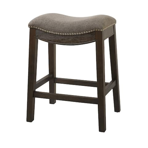 Copper Grove Bezons Saddle Seat 25-in. Counter Stool