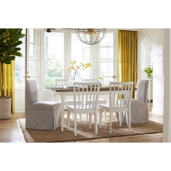 Sensational Shop Young House Love Skirted Dining Chair Free Shipping Ibusinesslaw Wood Chair Design Ideas Ibusinesslaworg