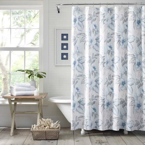 Tommy Bahama Casablanca Garden Shower Curtain