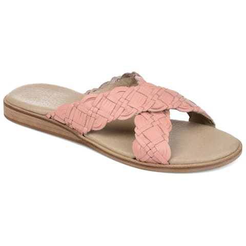 Journee Signature Womens Bryson Sandal by  Cheap