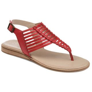 Journee Signature Women's Davis Sandal