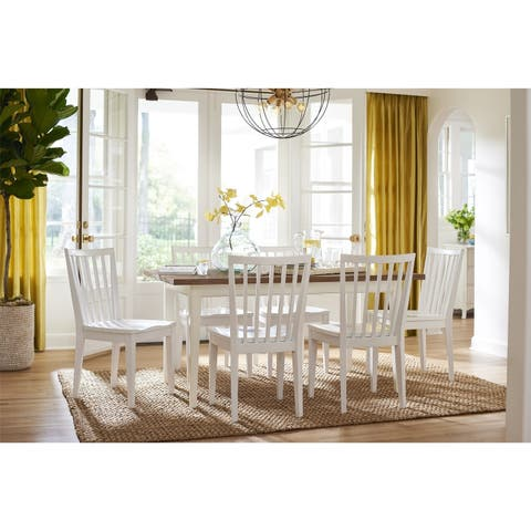 Young House Love Chipper Table - White