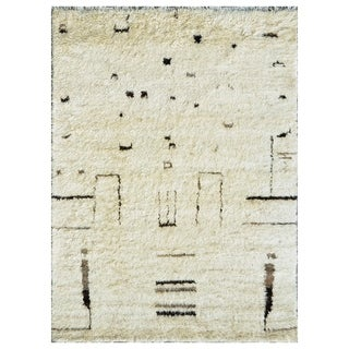 Pasargad Moroccan Collection Wool Area Rug