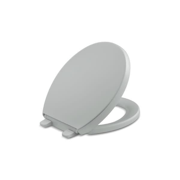 Shop Kohler Reveal Plastic Round Toilet Seat K 4009 95 Ice