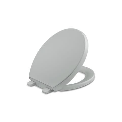 Kohler Reveal Plastic Round Toilet Seat K-4009-95 Ice Grey