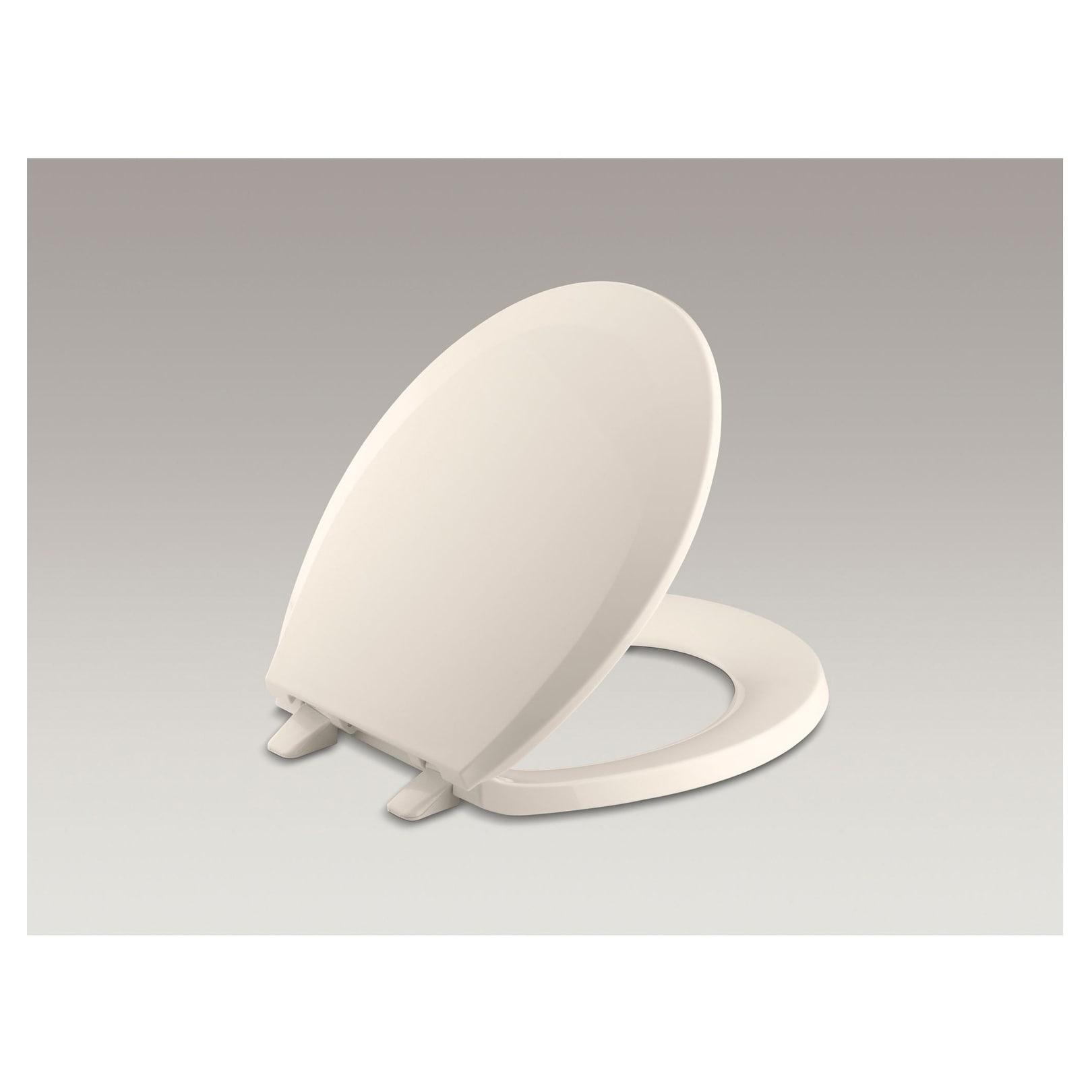 Pleasant Kohler Lustra Plastic Round Toilet Seat K 4662 55 Innocent Blush Ncnpc Chair Design For Home Ncnpcorg
