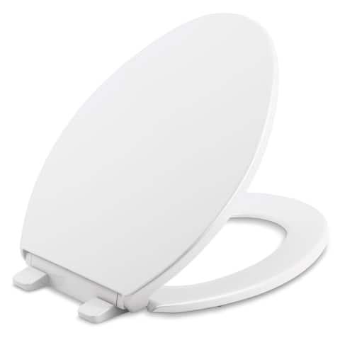 Kohler Brevia Plastic Elongated Toilet Seat K-20110-0 White