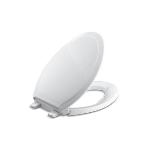 Kohler Rutledge Plastic Elongated Toilet Seat K-4734-0 White