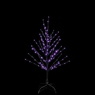 Santa's Best Twig Tree Lighted 36 in. H x 24 in. L x 24 in. W Halloween Decoration 1 pk