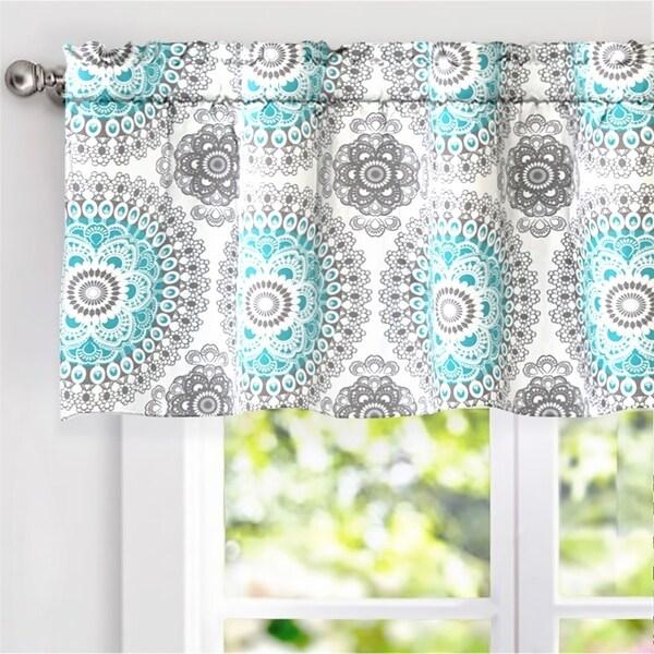 Shop DriftAway Bella Medallion Window Curtain Valance In