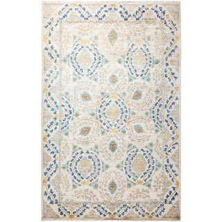 """Eclectic, Hand Knotted Area Rug - 5' 10"""" x 8' 10"""" - 5'10"""" x 8'10"""""""