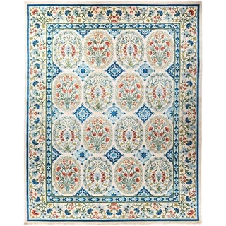 "Suzani, Hand Knotted Area Rug - 12' 1"" x 15' 7"" - 12'1"" x 15'7"""
