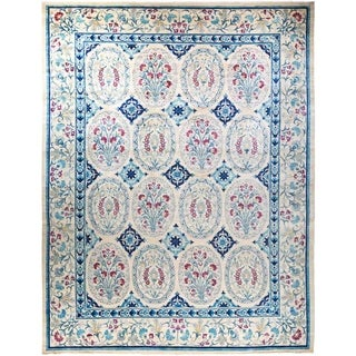 "Suzani, Hand Knotted Area Rug - 12' 2"" x 15' 9"" - 12'2"" x 15'9"""