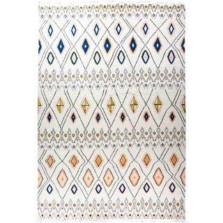 "Moroccan, Hand Knotted Area Rug - 10' 1"" x 14' 7"" - 10' 1"" x 14' 7"""