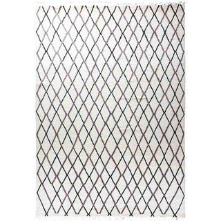 """Moroccan, Hand Knotted Area Rug - 9' 0"""" x 12' 8"""" - 9' x 12'8"""""""