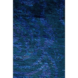 "Vibrance, Hand Knotted Area Rug - 8' 1"" x 9' 10"" - 8'1"" x 9'10"""