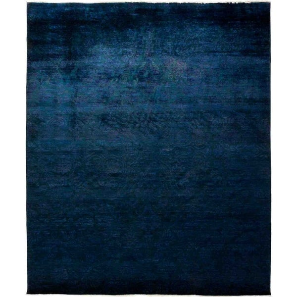 """Vibrance, Hand Knotted Area Rug - 8' 1"""" x 9' 10"""" - 8'1"""" x 9'10"""""""