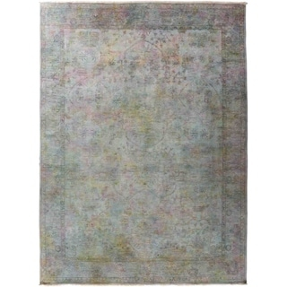 """Vibrance, Hand Knotted Area Rug - 9' 1"""" x 12' 4"""" - 9'1"""" x 12'4"""""""