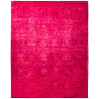 """Vibrance, Hand Knotted Area Rug - 8' 2"""" x 9' 10"""" - 8'2"""" x 9'10"""""""