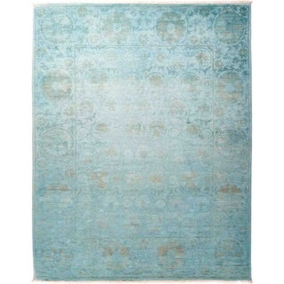 """Vibrance, Hand Knotted Area Rug - 8' 1"""" x 10' 1"""" - 8'1"""" x 10'1"""""""