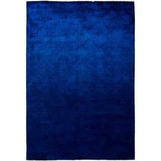 """Vibrance, Hand Knotted Area Rug - 6' 0"""" x 8' 9"""" - 6' x 8'9"""""""