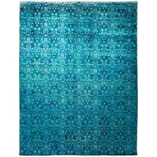"Vibrance, Hand Knotted Area Rug - 8' 2"" x 10' 2"" - 8'2"" x 10'2"""