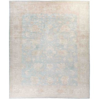 """Silky Oushak, Hand Knotted Area Rug - 11' 10"""" x 14' 3"""" - 11'10"""" x 14'3""""/Surplus"""