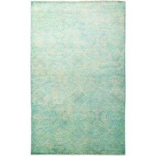 """Vibrance, Hand Knotted Area Rug - 5' 2"""" x 8' 3"""" - 5'2"""" x 8'3""""/Surplus"""