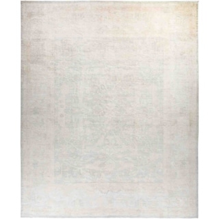 """Silky Oushak, Hand Knotted Area Rug - 11' 10"""" x 14' 7"""" - 11'10"""" x 14'7""""/Surplus"""