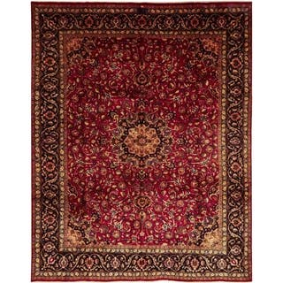 """Kashmar, Hand Knotted Area Rug - 9' 10"""" x 12' 6"""" - 9' 10"""" x 12' 6"""""""