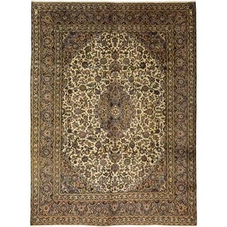 """Kashmar, Hand Knotted Area Rug - 9' 6"""" x 12' 9"""" - 9' 6"""" x 12' 9"""""""