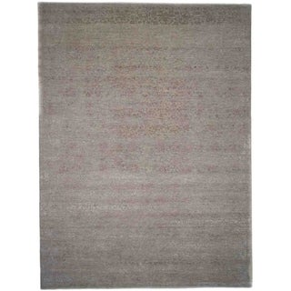 """Erase, Hand Knotted Area Rug - 9' 0"""" x 12' 1"""" - 9' x 12'1"""""""