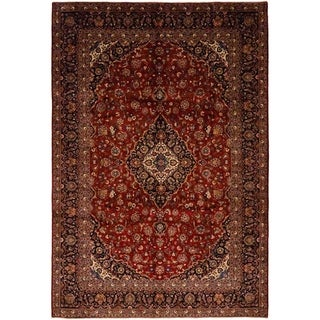 Persian One-of-a-Kind Hand-Knotted Area Rug - 9 x 12