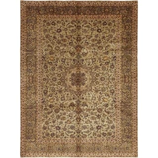 """Kashan, Hand Knotted Area Rug - 8' 8"""" x 12' 0"""" - 8' 8"""" x 12' 0"""""""