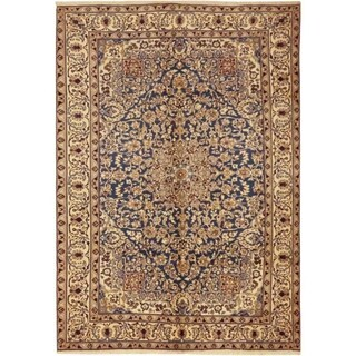 """Nain, Hand Knotted Area Rug - 6' 6"""" x 9' 6"""" - 6' 6"""" x 9' 6"""""""