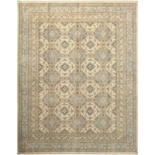 "Khotan, Hand Knotted Area Rug - 9' 3"" x 11' 10"" - 9'3"" x 11'10"""