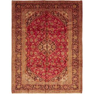 """Kashan, Hand Knotted Area Rug - 8' 0"""" x 11' 0"""" - 8' 0"""" x 11' 0"""""""