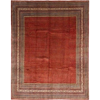"Saroogh, Hand Knotted Area Rug - 10' 2"" x 13' 3"" - 10'2"" x 13'3"""