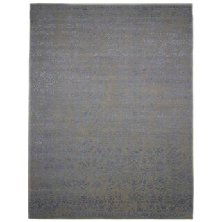 """Erase, Hand Knotted Area Rug - 9' 1"""" x 12' 3"""" - 9'1"""" x 12'3"""""""