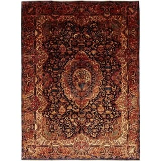 """Kashmar, Hand Knotted Area Rug - 9' 5"""" x 13' 0"""" - 9' 5"""" x 13' 0"""""""